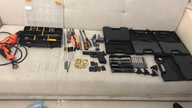 İstanbul'da silah imalatçısı olduğu öne sürülen 1 kişi yakalandı