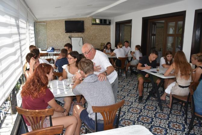 Litvanyalı öğrenciler Sinop'ta