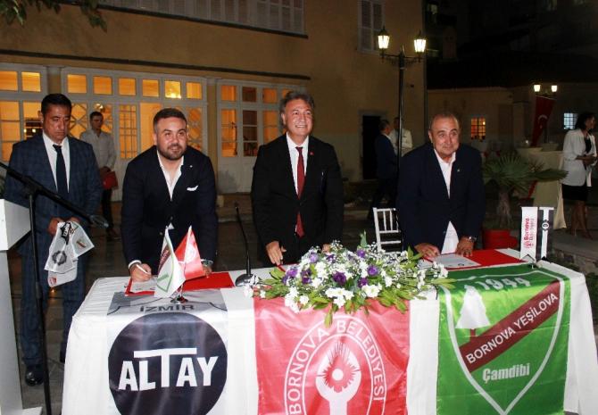 Altay'ın gençleri Yeşilova'da ter dökecek