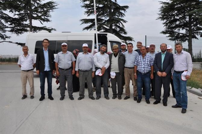 Kütahyalı çiftçiler Eskişehir Tarım Fuarı'nda