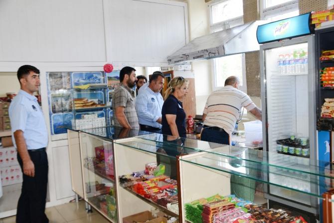 Tuşba'da okul kantinleri denetlendi