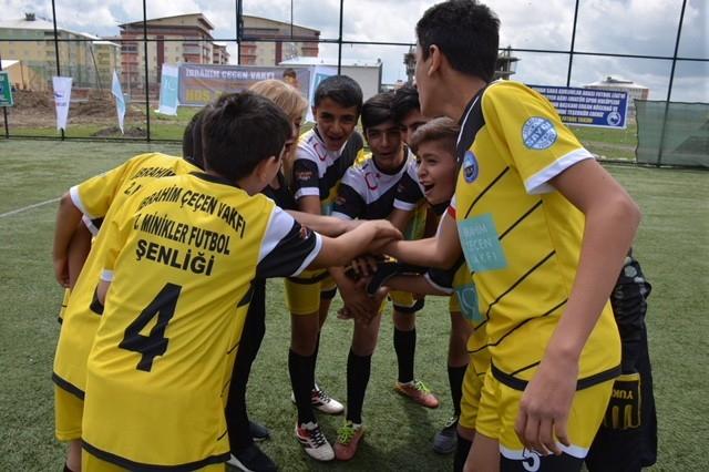 Ağrı'da IC Vakfı 'Minikler Futbol Şenliği' düzenleyecek