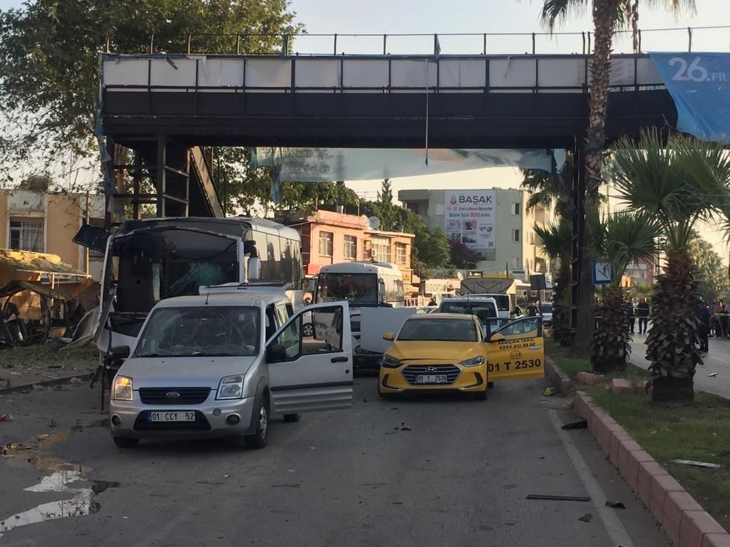 Adana'da polis aracına saldırı düzenleyen terösitlerin kimliği belli oldu