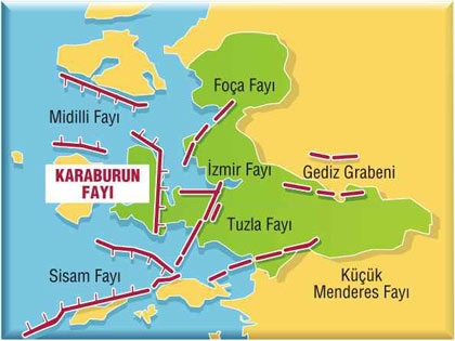 İzmir deprem haritası 2020   İzmir deprem riski olan semtler
