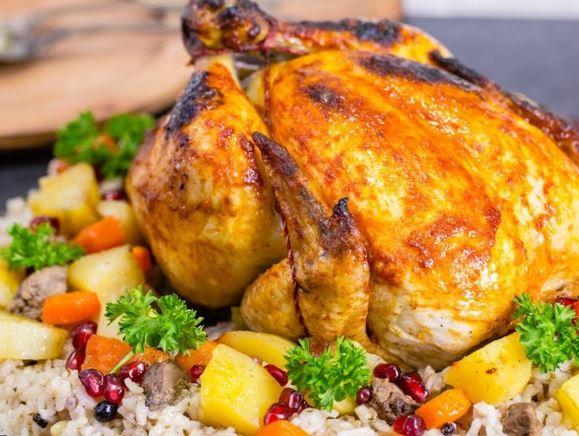 Gelinim Mutfakta İç pilavlı bütün tavuk nasıl yapılır?