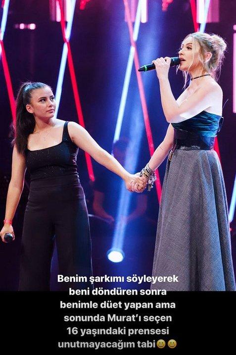 O Ses Türkiye'de yarışmacı Hadise'ye sağ gösterip sol vurdu