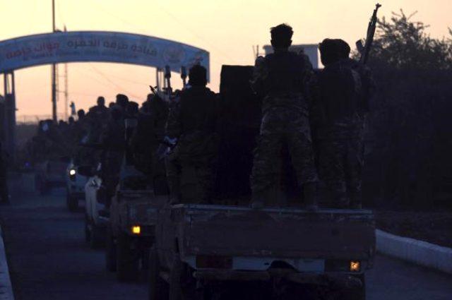 Fırat'ın doğusu operasyonu için 14 bin Milli Ordu askeri yola çıktı!