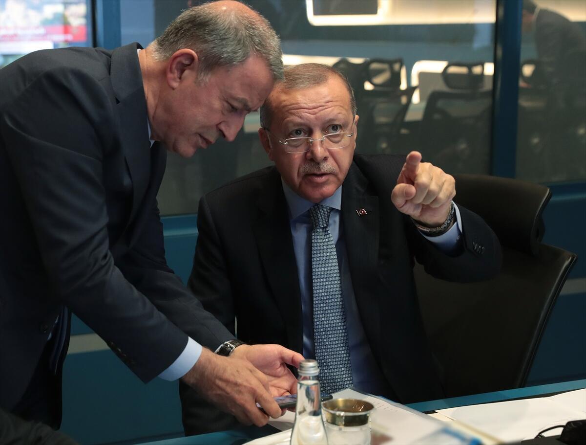 Ankara'da kritik harekat toplantısı yapıldı! Fotoğraflar paylaşıldı...