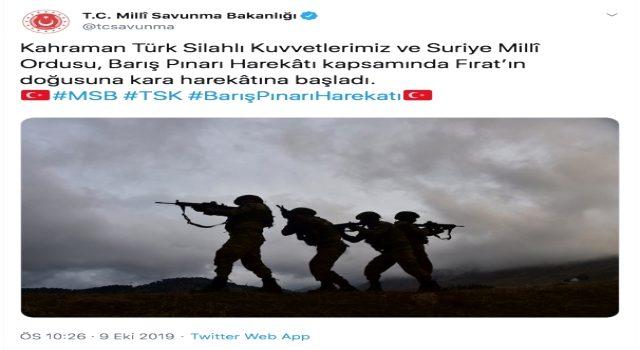 Barış Pınarı Harekatında son dakika... Komandolar Fırat'ın doğusuna ilerliyor!