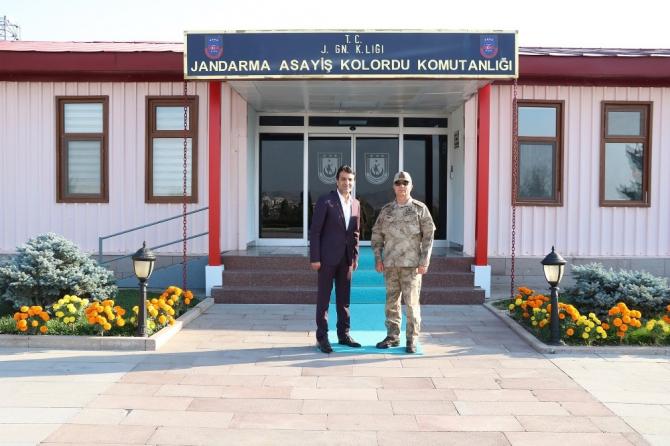 Başkan Şeylan'dan Tümgeneral İlbaş'a ziyaret