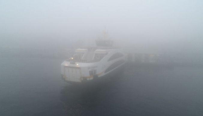 İstanbul'daki sis, deniz ve kara trafiğini olumsuz etkiledi