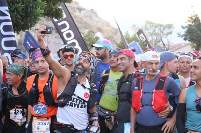 Salomon Kapadokya Ultra Trail yarışı başladı