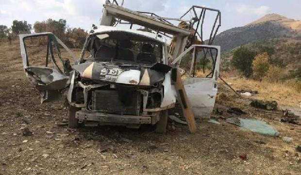 Teröristlerden orman işçilerine saldırı