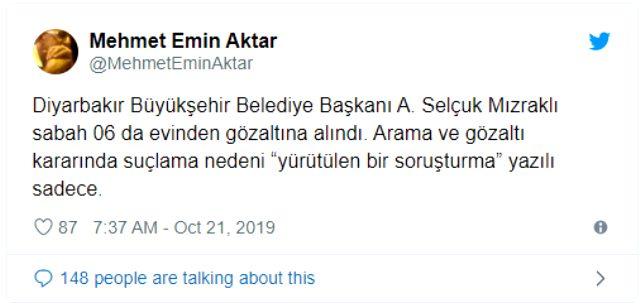 Görevden uzaklaştırılan HDP'li Belediye başkanlarına terörden gözaltına alındı