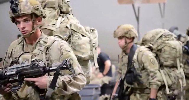 ABD askerlerinin Suriye'den ayrıldığı görüntüler ortaya çıktı!