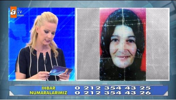 Cani koca Osman Yalçınkaya karısını öldürdükten sonra Müge Anlı'ya çıkmış