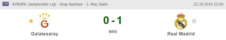 Galatasaray Real Madrid maçı özet izle   Galatasaray Real Madrid maç özeti