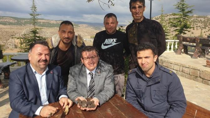 Yozgat'ta trüf mantarı bulundu