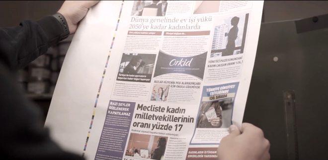 Orkid reklamı nedir? Orkid gazete yeni ambalaj reklamı ne anlatıyor 2019?