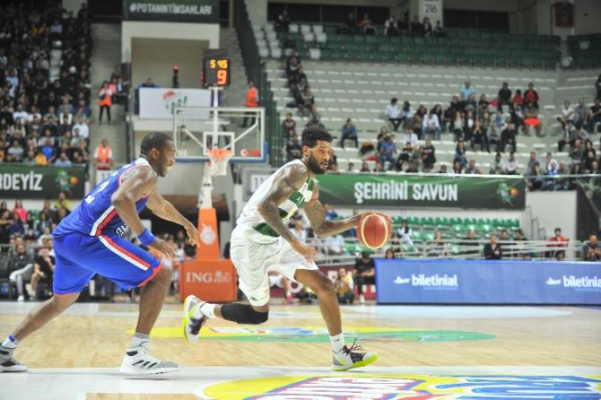 Basketbol Süper Lig: Bursaspor: 86 - Anadolu Efes: 95