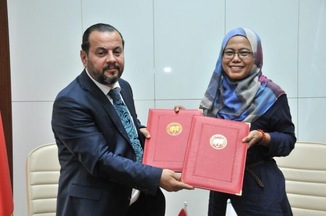 KMÜ ile Malezya üniversiteleri arasında işbirliği protokolü imzalandı