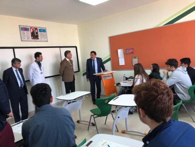 Başkan Gürkan, Çamlıca Okullarını ziyaret etti