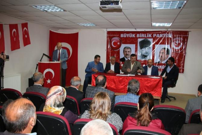 BBP Oltu İlçe Başkanlığı 3. Olağan Kongresi yapıldı
