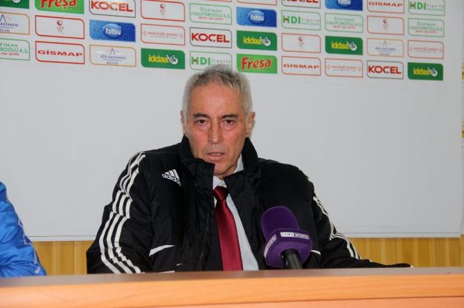 Giresunspor - Eskişehirspor maçının ardından