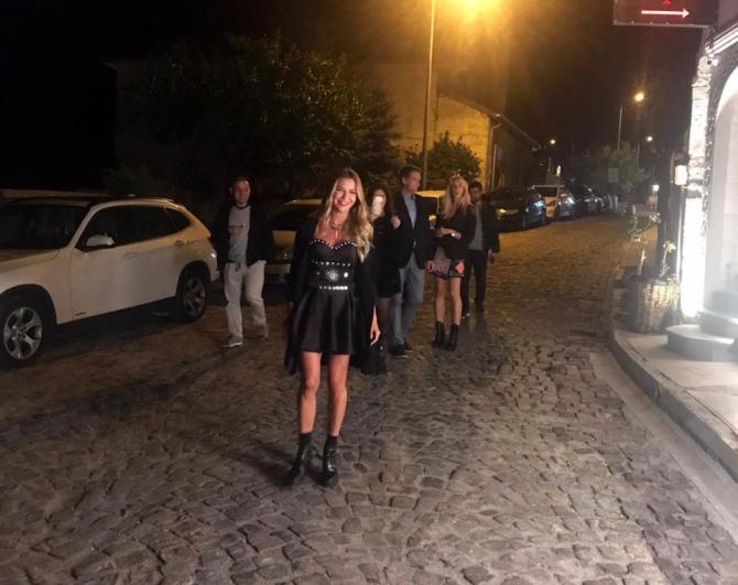 Ivana Sert'e Kapadokya'da doğum günü sürprizi