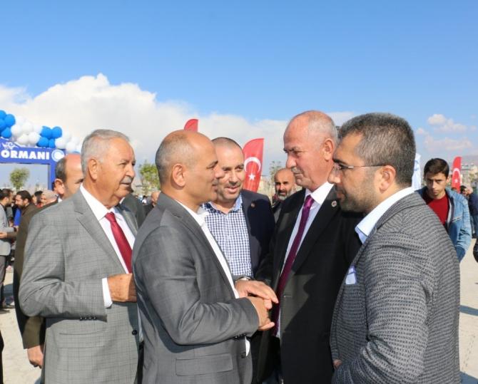 Başkan Şayir, bebekler için Van'da fidan dikti