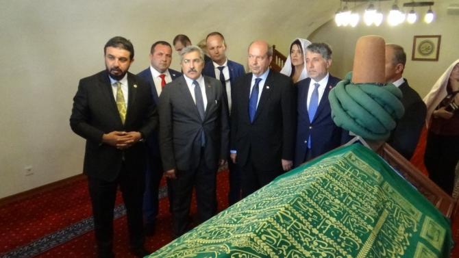 """KKTC Başbakanı Tatar: """"Güçlü Türkiye'nin desteğiyle mücadelemizi başarı ile sürdürüyoruz"""""""