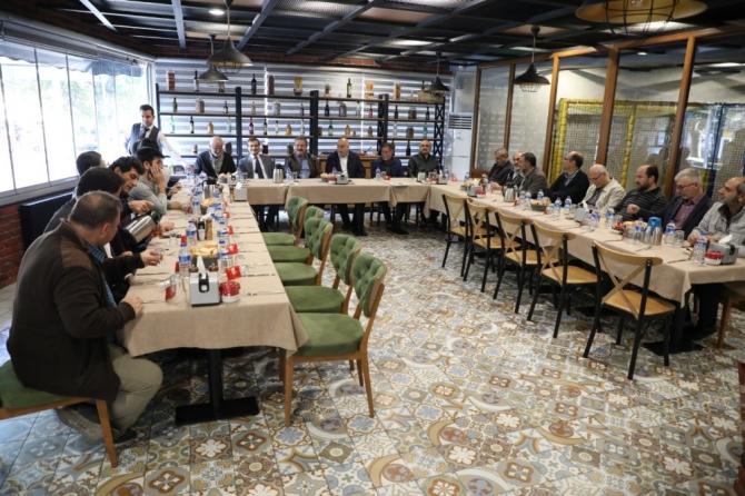 Başkan Palancıoğlu, mimar ve mühendislerle buluştu
