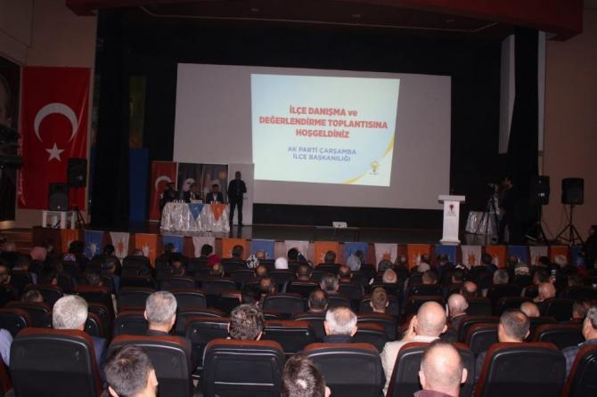 AK Parti Çarşamba Danışma Kurulu Toplantısı