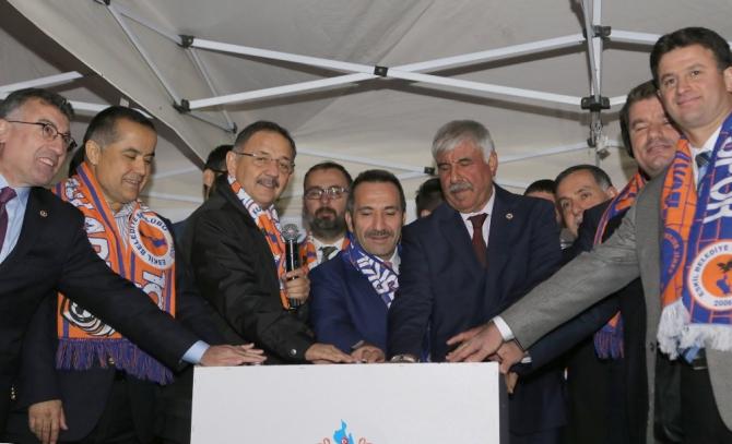 Eskil'de yeni belediyesi binasının temeli atıldı