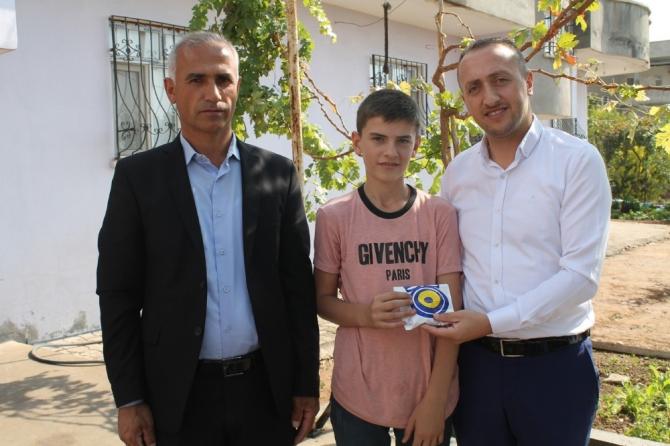 Şırnak'ta Siyer-i Nebi sınavında derece yapan öğrencilere ödülleri verildi