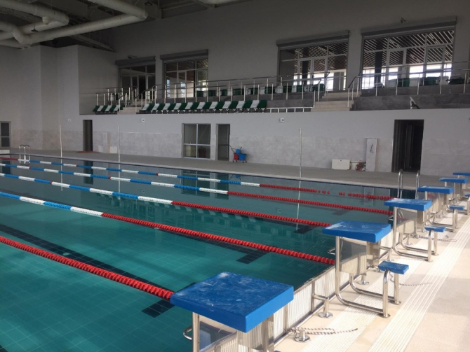 Dilovası Yarı Olimpik Yüzme Havuzunda sona gelindi