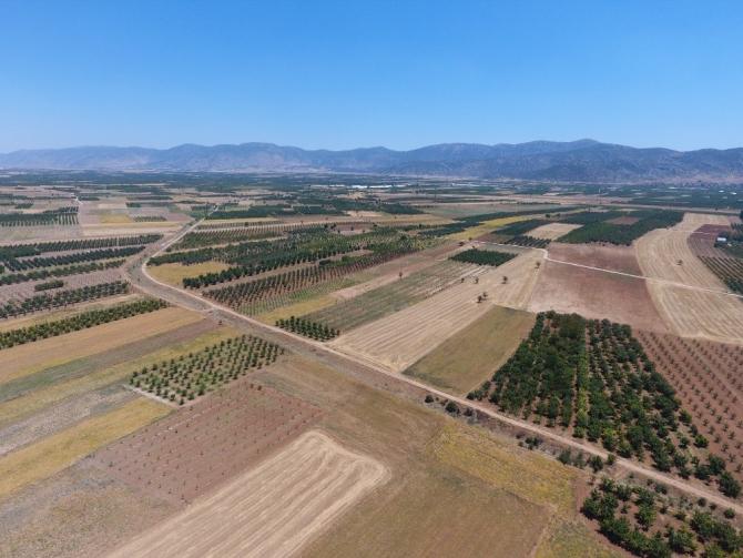 Antalya'da 464 bin 739 dekar tarım arazisi sulandı