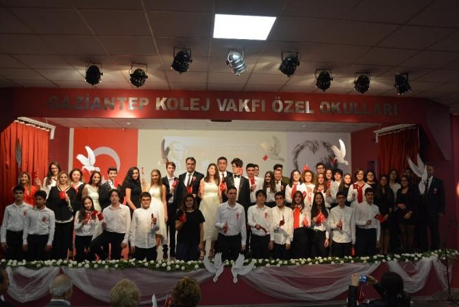 Gaziantep Kolej Vakfı'nda 96. yıl coşkusu