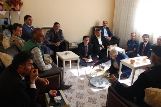 Halkla buluşma toplantısı yapıldı