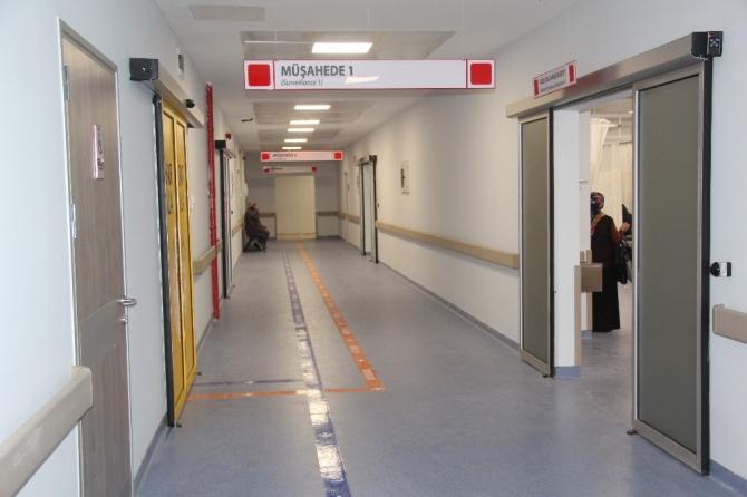 Yeni hastane hasta kabulüne başladı