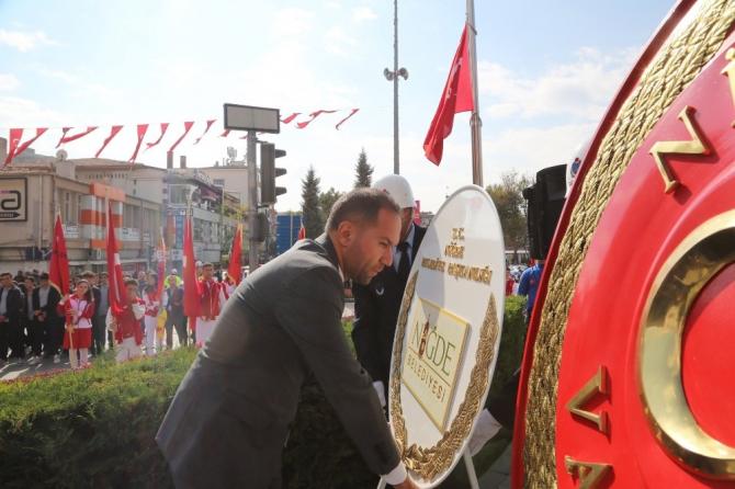Niğde'de Cumhuriyet Bayramı kutlamaları başladı