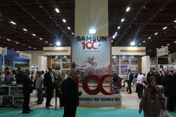 Orta Karadeniz'in yöresel ürünleri büyük ilgi gördü