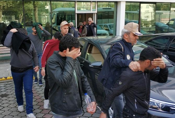 Samsun'da DEAŞ operasyonu: 12 gözaltı