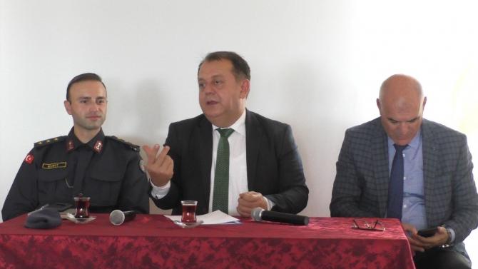 Beyşehir'de kent güvenlik danışma kurulu toplantısı yapıldı