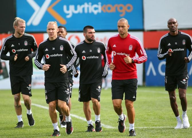 Beşiktaş, Antalyaspor hazırlıklarına başladı