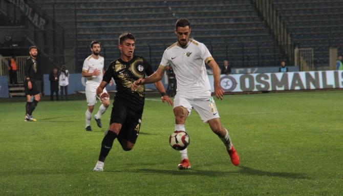 TFF 1. Lig: Osmanlıspor: 2 - Akhisarspor: 1