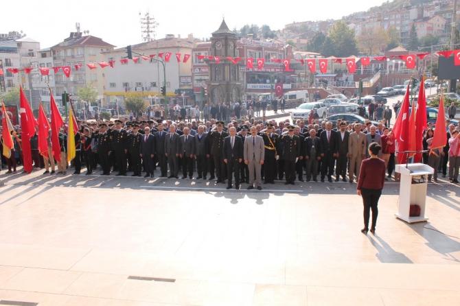 Tosya'da Cumhuriyet Bayramı kutlamaları başladı