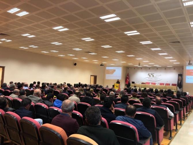Van'da 'Aile İçi ve Kadına Yönelik Şiddetle Mücadele' semineri