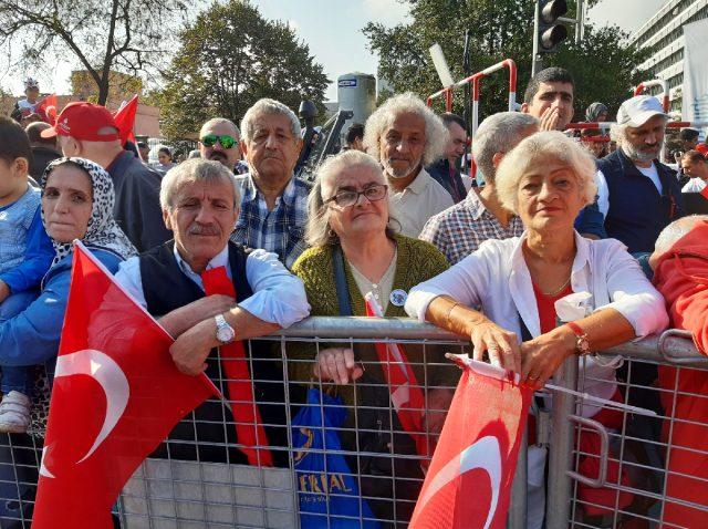 Cumhurbaşkanı Erdoğan Cumhuriyetimizin 96.yılında Anıtkabir'de