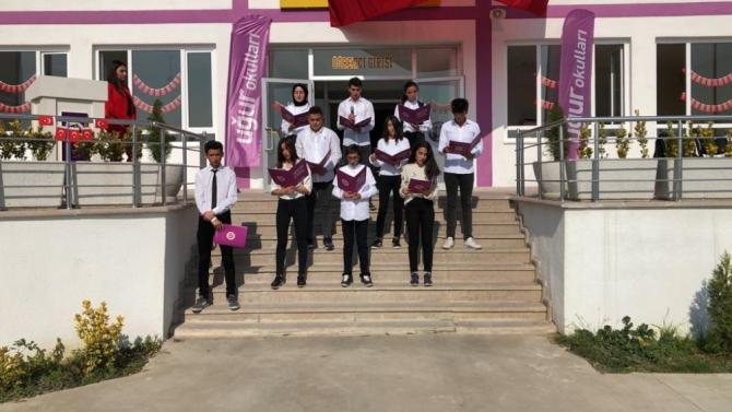 Düzce Uğur Okulları'ndan anlamlı etkinlik